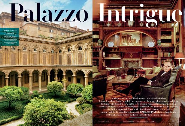 Article Preview: Palazzo Intrigue, January 2014 2014 | Vanity Fair