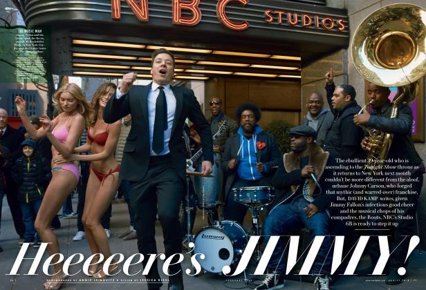 Article Preview: Heeeeere's JIMMY!, February 2014 2014 | Vanity Fair