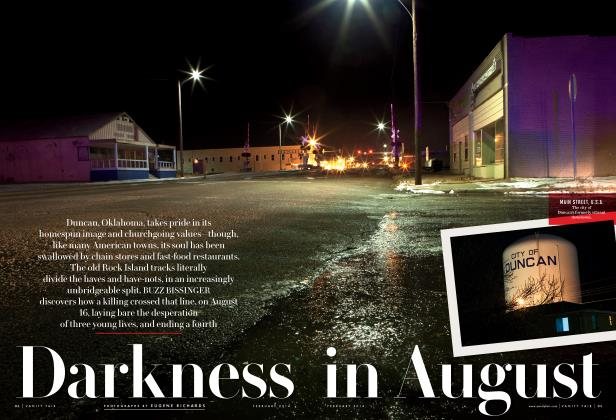 Article Preview: Darkness in August, February 2014 2014 | Vanity Fair