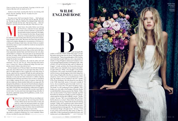 Article Preview: WILDE ENGLISH ROSE, February 2014 2014 | Vanity Fair