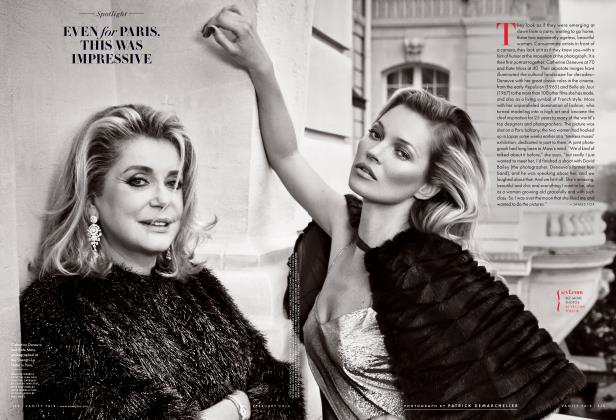 Article Preview: EVEN for PARIS, THIS WAS IMPRESSIVE, February 2014 2014 | Vanity Fair