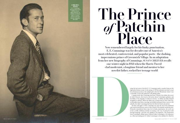 Article Preview: The Prince of Patchin Place, February 2014 2014 | Vanity Fair