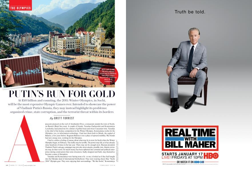 PUTIN'S RUN FOR GOLD