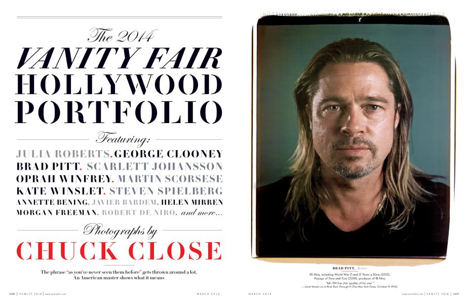 The 2014 VANITY FAIR HOLLYWOOD PORTFOLIO