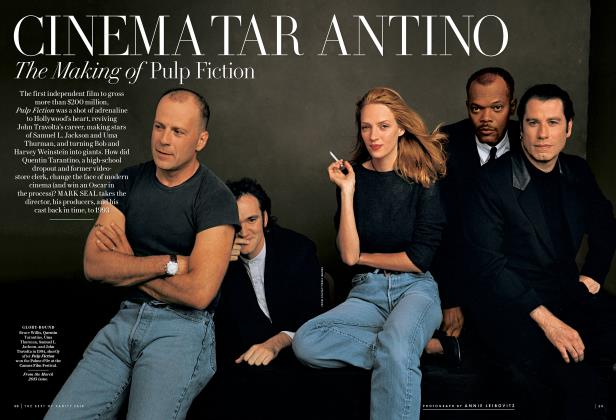 Article Preview: CINEMA TARANTINO The Making of Pulp Fiction, March 2014 2014 | Vanity Fair