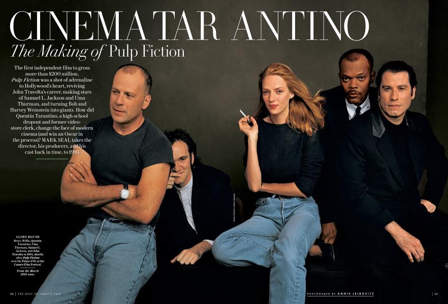 CINEMA TARANTINO The Making of Pulp Fiction