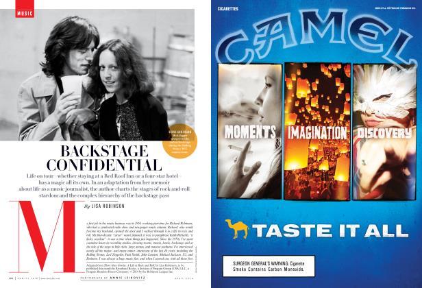Article Preview: BACKSTAGE CONFIDENTIAL, April 2014 | Vanity Fair