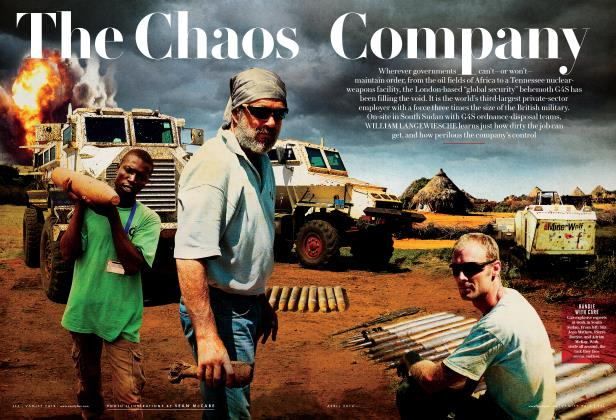 Article Preview: The Chaos Company, April 2014 | Vanity Fair