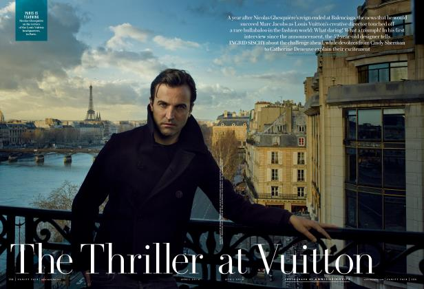 Article Preview: The Thriller at Vuitton, April 2004 2014 | Vanity Fair