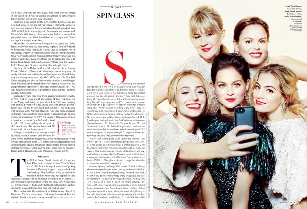 Article Preview: SPIN CLASS, April 2004 2014 | Vanity Fair