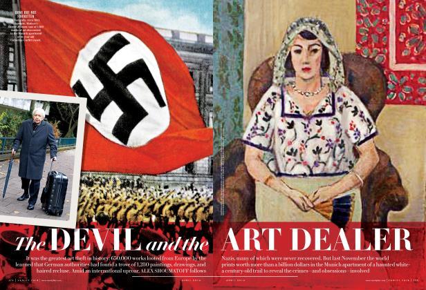 Article Preview: The DEVIL and the ART DEALER, April 2014 | Vanity Fair