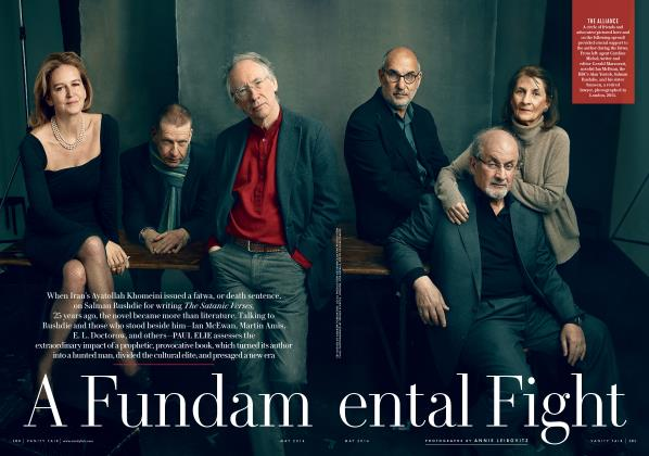 Article Preview: A Fundamental Fight, May 2014 2014 | Vanity Fair