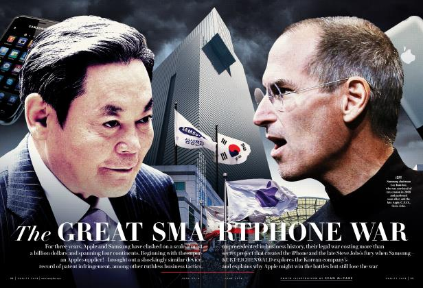 Article Preview: The GREAT SMARTPHONE WAR, June 2014 | Vanity Fair