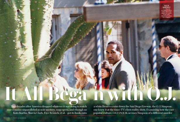 Article Preview: It All Began with O.J., June 2014 | Vanity Fair