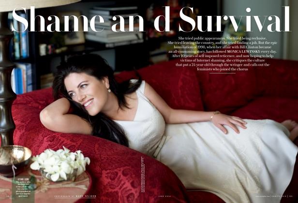 Article Preview: Shame and Survival, June 2014 2014 | Vanity Fair