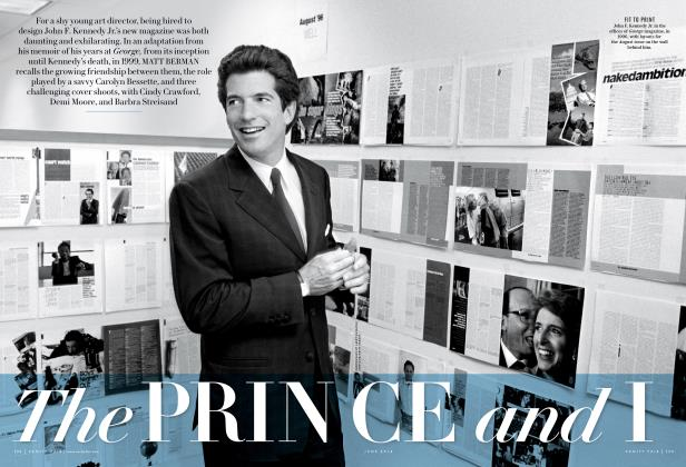 Article Preview: The PRINCE and I, June 2014 | Vanity Fair