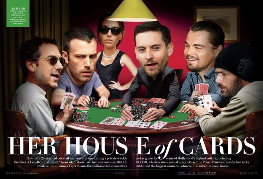 HER HOUSE of CARDS - July | Vanity Fair
