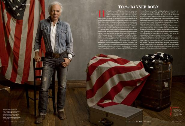 Article Preview: TO the BANNER BORN, July 2014 2014 | Vanity Fair