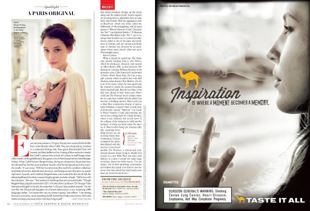 Article Preview: A PARIS ORIGINAL, August 2014 2014 | Vanity Fair