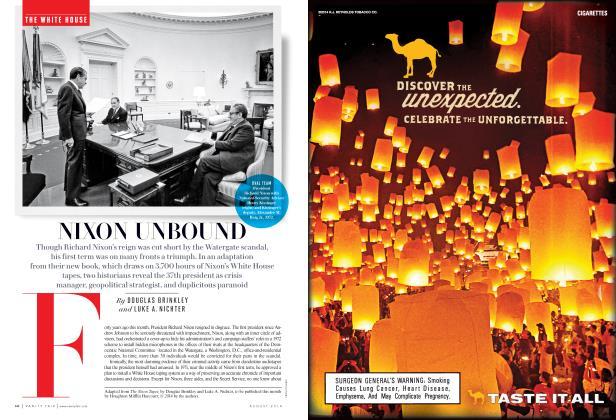 Article Preview: NIXON UNBOUND, August 2014 | Vanity Fair
