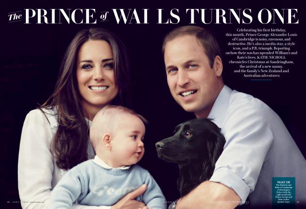 Article Preview: The PRINCE of WAILS TURNS ONE, August 2014 2014 | Vanity Fair