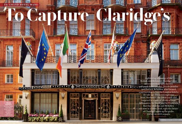 Article Preview: To Capture Claridge's, August 2014 | Vanity Fair