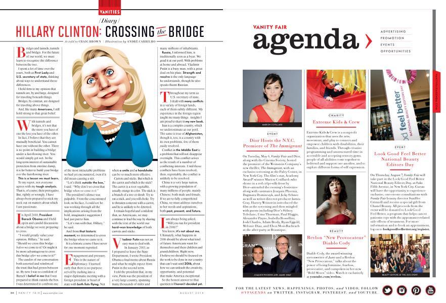 HILLARY CLINTON: CROSSING the BRIDGE