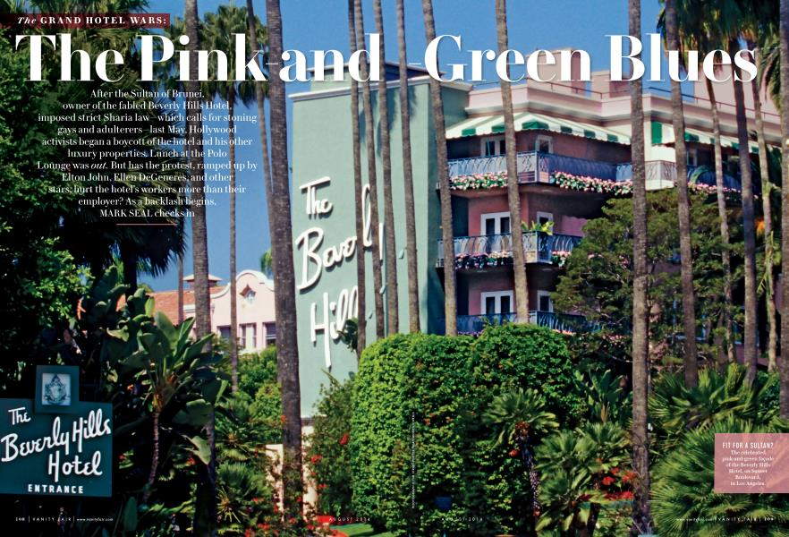 The Pink-and Green Blues
