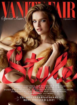 September 2014 | Vanity Fair