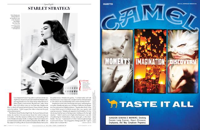 Article Preview: STARLET STRATEGY, September 2014 2014 | Vanity Fair