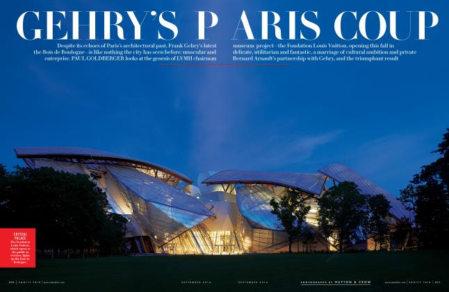 Article Preview: GEHRY'S PARIS COUP, September 2014 2014 | Vanity Fair