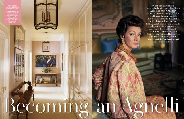 Article Preview: Becoming an Agnelli, September 2014 | Vanity Fair