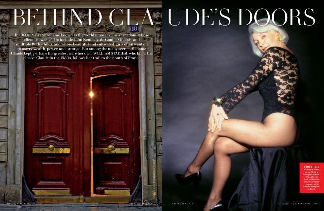 Article Preview: BEHIND CLAUDE'S DOORS, September 2014 | Vanity Fair