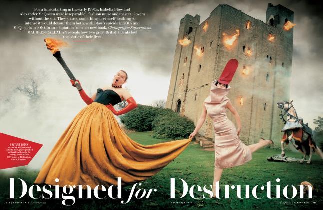 Article Preview: Designed for Destruction, September 2014 | Vanity Fair