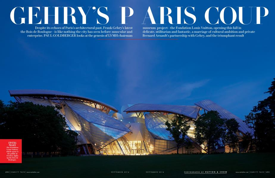GEHRY'S PARIS COUP