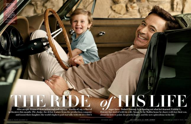 Article Preview: THE RIDE of HIS LIFE, October 2014 | Vanity Fair