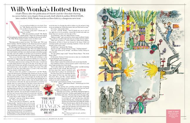 Article Preview: Willy Wonka's Hottest Item, October 2014 2014 | Vanity Fair