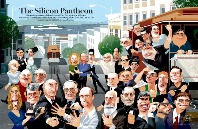 Article Preview: The Silicon Pantheon, October 2014 2014 | Vanity Fair