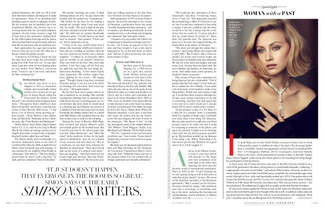 Article Preview: WOMAN with a PAST, October 2014 2014 | Vanity Fair