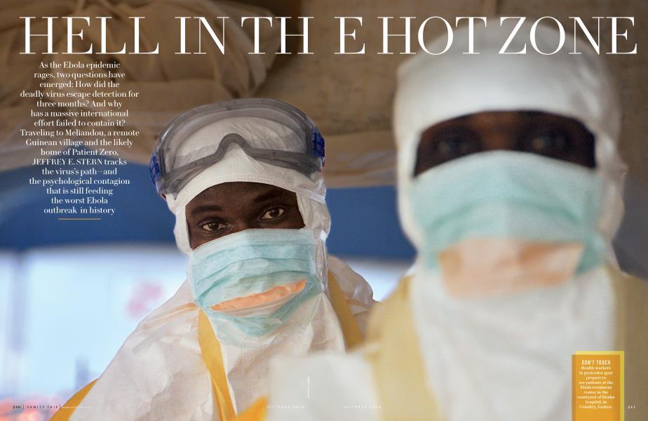 Hell In The Hot Zone Vanity Fair October 2014