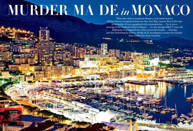 Article Preview: MURDER MADE in MONACO, November 2014 2014 | Vanity Fair