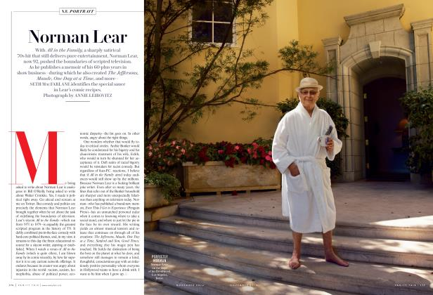Article Preview: Norman Lear, November 2014 2014 | Vanity Fair