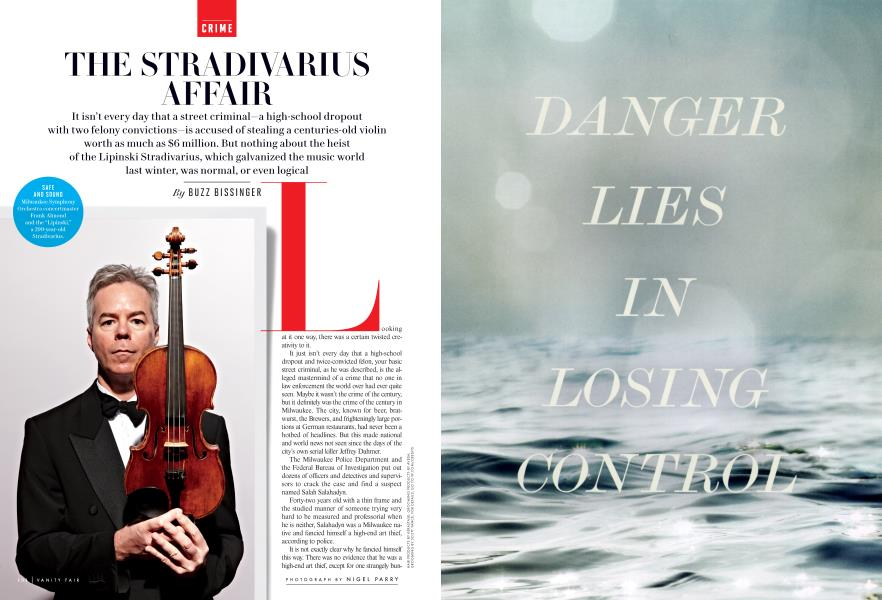THE STRADIVARIUS AFFAIR