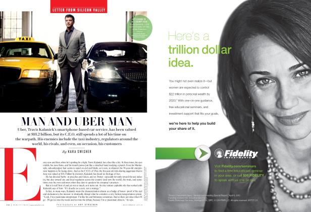 Article Preview: MAN AND UBER MAN, December 2014 | Vanity Fair