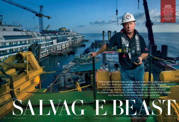 Article Preview: SALVAGE BEAST, December 2014 | Vanity Fair