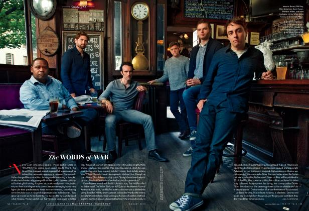 Article Preview: The WORDS of WAR, January 2015 2015 | Vanity Fair