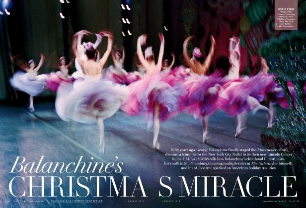 Article Preview: Balanchine's CHRISTMAS MIRACLE, January 2015 | Vanity Fair