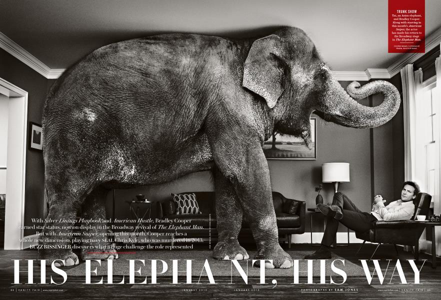 HIS ELEPHANT, HIS WAY