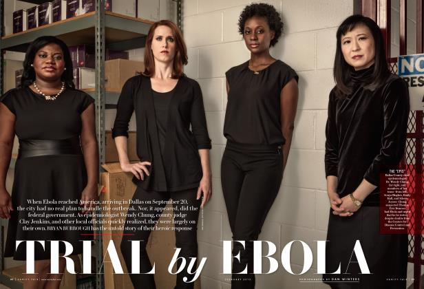 Article Preview: TRIAL by EBOLA, February 2015 2015 | Vanity Fair