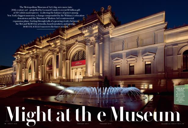 Article Preview: Might at the Museum, February 2015 | Vanity Fair